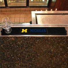 University of Michigan Drink Mat 3.25x24