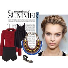"""""""How Do You Style Ombré Necklaces?"""" by freechoice on Polyvore"""