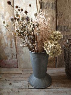 アンティーク フラワーバケツ Antique Flower Bucket