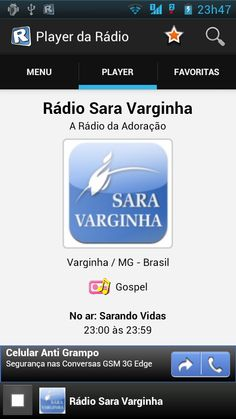 RadiosNet - Aplicativo Mobile para ouvir rádios em Celulares | App Android | Radios.com.br