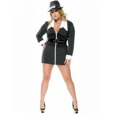 Miss Bonnie Gangster Costume (Plus Size)  Get It On Fancy Dress Superstore  sc 1 st  Pinterest & 48 best Gangster u0026 Pimps Costumes images on Pinterest | Fancy dress ...