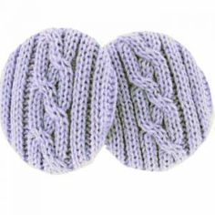 Lilac Cable Knit EarbagsNow in beautiful cable knit, our patented cozy fit…