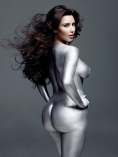 After 72 days of marriage Kim Kardashian is once again a single lady.    Kim shows off the goods in last year's Art Issue.