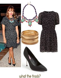 Celebrity Look for Less: Rashida Jones Style | What the Frock? - Affordable Fashion Tips and Trends