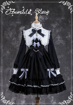 Bramble Rose -Devil- Gothic Lolita OP Dress
