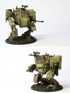 CoolMiniOrNot - DUST Medium Panzer Walker by zenmacster