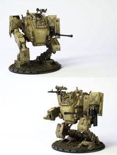 CoolMiniOrNot - DUST Medium Panzer Walker by zenmacster