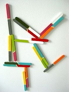popsicle stick magnets