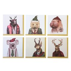 illustrated family christmas card - Google Search