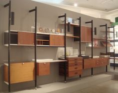 Poul Cadovius Royal System Wall Unit Offices By and Tiempo