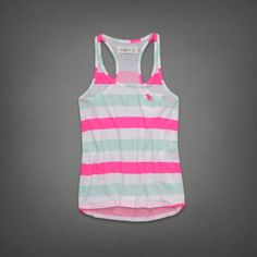 Stripe Tank  #ABERCROMBIEHOT   Abercrombie.com, can we say my casual easter this year?