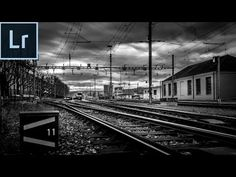 Lightroom 5/6 cc 2015 Editing Tutorial - Create Dramatic Black and White Photos in Lightroom 5/6 cc - YouTube