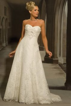 My ideal wedding dress.