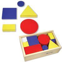 Actividades para Educación Infantil: Actividades con los BLOQUES LÓGICOS DE DIENES