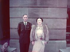 King George VI and Queen Elizabeth - Silver Wedding