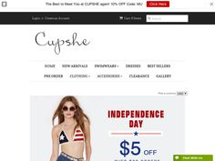 #Cupshe - 10% off and Free Shipping on Black and Floral Trends.