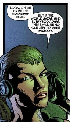 Starling seriously has her priorities straight.