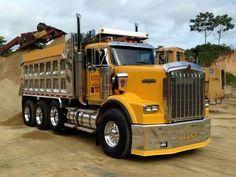 KENWORTH-T800, Dump-Truck.