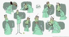 The SPA Studios (@TheSPAStudios)   Twitter Character explorations by Sergio Pablos.