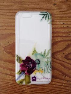 Funda de móvil de flores #phonecase #watercolor #wedding #weddingstationery #boda #papeleríadeboda