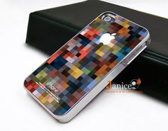silvery iphone in case unique Iphone case  mosaic image design iphone 4 case iphone 4s case iphone 4 cover iphone case design. $16.99, via Etsy.