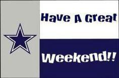 Weekend dallas cowboys
