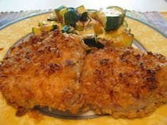 French's Friend Onion Crusted Pork Chops  Recipe    Ingredients:    6 Boneless Pork Tenderloin Chops  1 large can French's Fried Onions  2 tbs flour  1/2 cup milk  paprika  salt and pepper