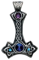 Thor's Hammer Viking Necklace TH03
