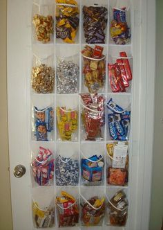 rePurpose:  Clear shoe organizer becomes a pantry ,craft or bath product organizer