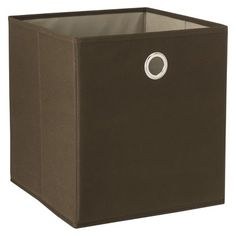 These fabric storage bins are nice and pretty cheap too i for Teal bathroom bin