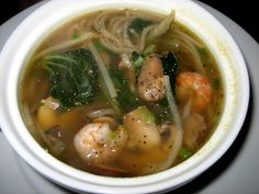 Spicy Shrimp and Bok Choy Soup | Two Peas & Their Pod