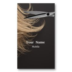 Make Up  Artist - Hair Stylist Business Card