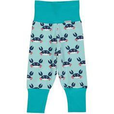 Maxomorra Crab Baby Trousers
