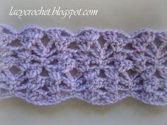 Crochet Blanket Patterns for Men | Lacy Crochet: Lacy Baby Blanket Tutorial, Step 5
