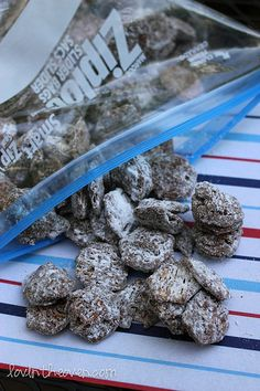 I make Puppy Chow every year during the Christmas season. Last year we tried it with Nutella and were not so successful. Maybe I'll try and follow this recipe this year!