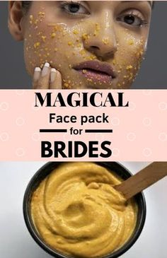 Bridal face mask with gram flour #skin #skincare #facemask #mask #face #bride #beautytips