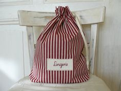 Lingerie bag clothes bag gift for mom by annadw on Etsy, $20.00