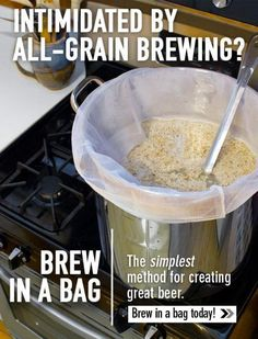 Homebrew Finds: Northern Brewer: Brew in a bag (BIAB) 3 Gallon System #homebrewingrecipesbeer
