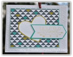 making simple cards is a snap with http://www.handstampedstyle.com simple card classes