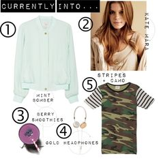 """Currently Into..."" by cheetahisnb ❤ liked on Polyvore"