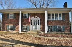 7515 BERWICK CT, Alexandria, VA 22315 (MLS # FX8543520) - Herbert Riggs Realtor - Reduced $15k ** wonderful updated/remodeled brick front 4 br 2 ba home in sought after hayfield farm! Crown molding throughout. Hardwood flrs entire main level. 2 fireplaces. Updated bathrooms. Kitchen completely renovated w/ high end features/amenties.  New windows. Backyard offers large deck & screen-in-porch. Commuter bus svc steps away. Close to fort belvoir, metro & kingstowne - Call Herbert Riggs…