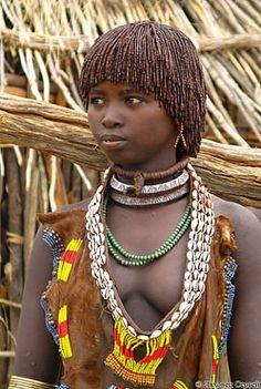 Super hot tribal women boobs
