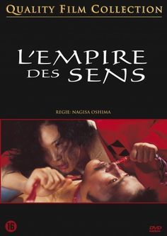 'Ai no Korīda' or 'L'Empire des sens' (~ In the Realm of the Senses), 1976, by Nagisa Oshima. At the time controversial because of sex scenes. And that's how I remember it (seeing the film when at primary school). But simply a great movie too.
