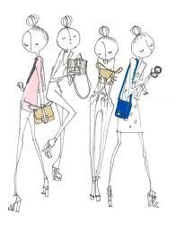 cute fashion illustrations - Google Search