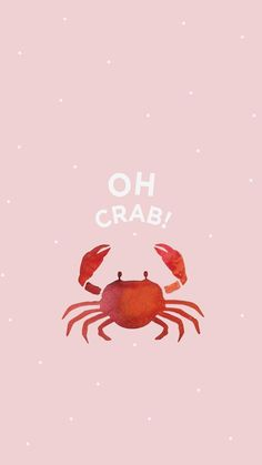 Wallpaper iPhone and Android Wallpapers: Pink Crab Wallpaper for iPhone and Android , - Life and hacks Whatsapp Wallpaper, Emoji Wallpaper, Fish Wallpaper Iphone, Cute Wallpaper For Phone, Animal Wallpaper, Image Citation, Cute Backgrounds, Cute Wallpapers Quotes, Iphone Backgrounds