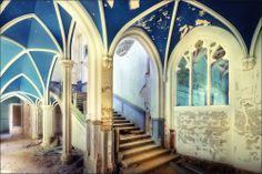 Everlasting Glory - Abandoned Castle by Sven Fennema.  I want to rescue this poor place, but I know I can't.