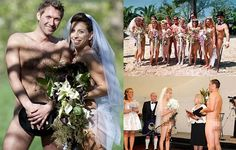 Nude weddings where bride and groom bare it all