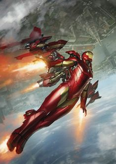 International Iron Man 3. Variant Cover by Skan