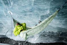 Follow these tips to brave the elements of cold-weather hammock camping this winter.
