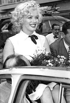 Marilyn Monroe promoting MONKEY BUSINESS in Atlantic City, 1952.